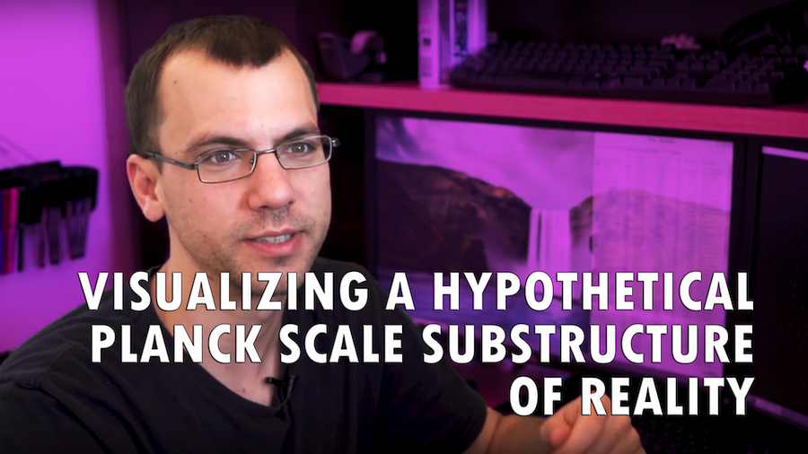 Visualizing a Hypothetical Planck Scale Substructure of Reality