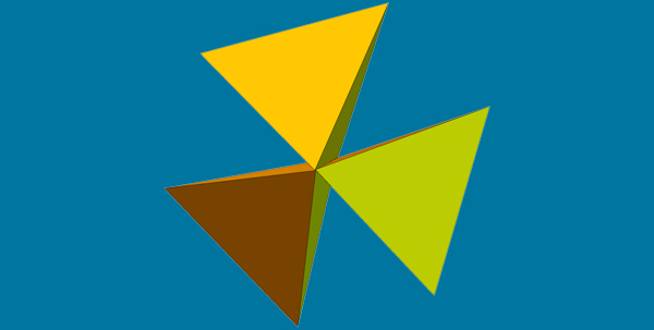 Edge-Sharing 3-Fold Cluster