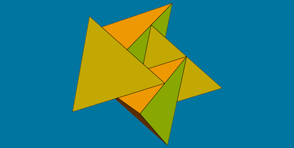 Edge-Sharing 4-Fold Cluster