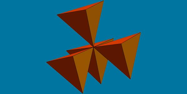 Vertex-Sharing 3-Fold Cluster