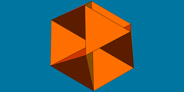 Vertex-Sharing 4-Fold Cluster
