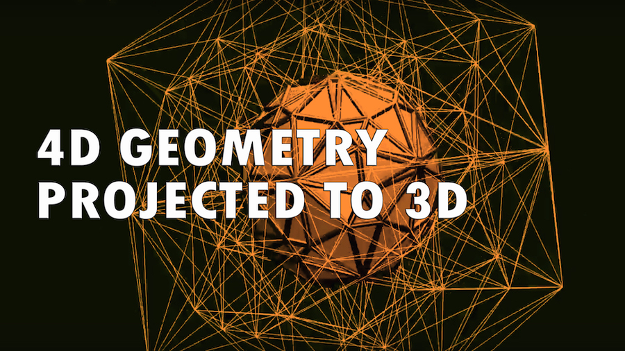 4D Geometry Projected to 3D