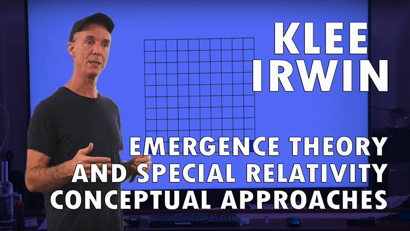 Emergence Theory and Special Relativity: Conceptual Approaches