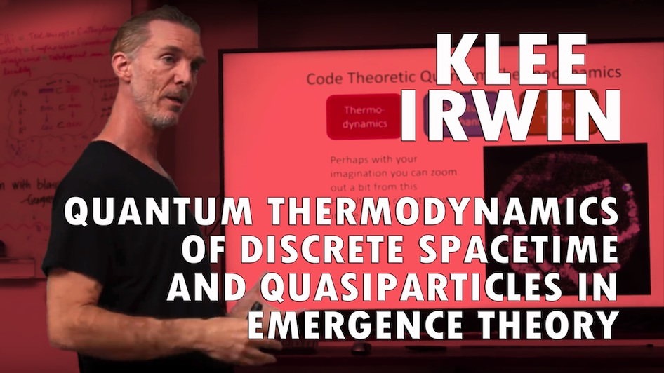 Quantum Thermodynamics of Discrete Spacetime and Quasiparticles in Emergence Theory