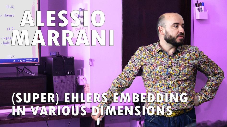Super Ehlers Embedding in Various Dimensions