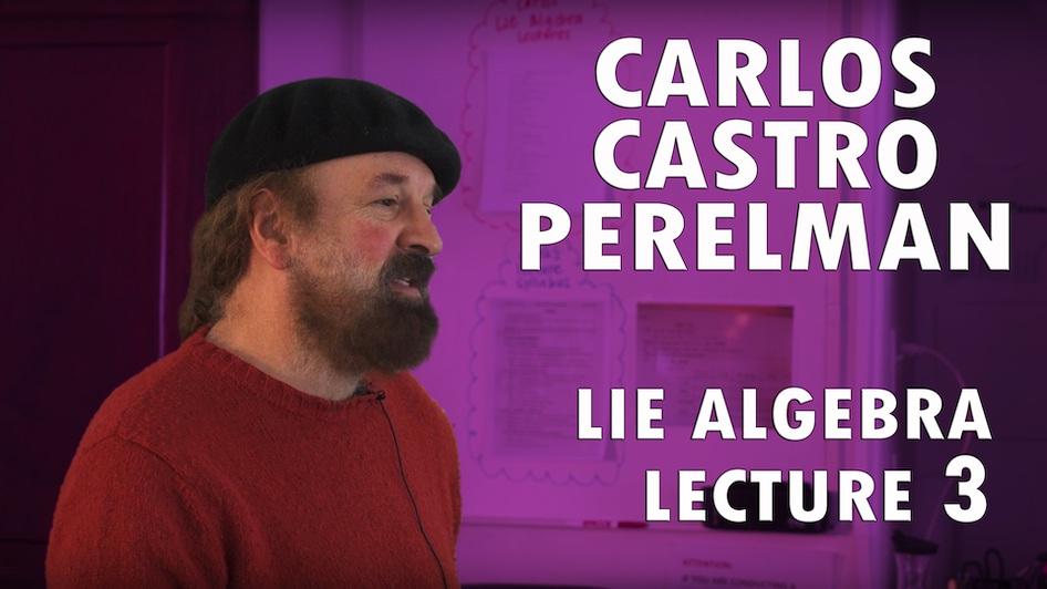 Lie Algebra Lecture Series