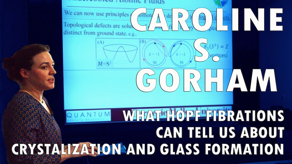 What Hopf Fibrations can tell us about crystallization and glass formation