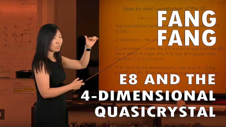 E8 and the 4-Dimensional Quasicrystal