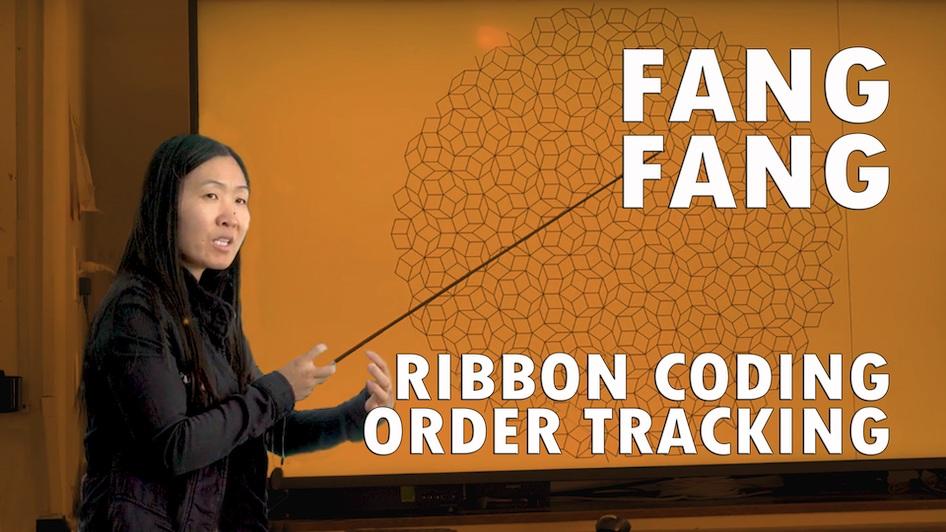 Ribbon Coding Order Tracking
