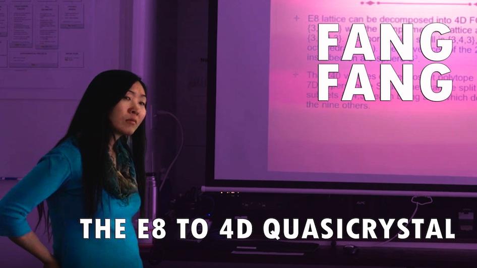 The E8 to 4D Quasicrystal
