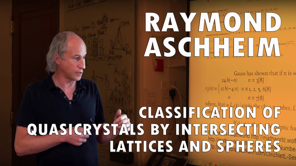 Classification of Quasicrystals by intersecting lattices and spheres
