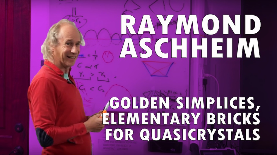 Golden Simplices, Elementary Bricks for Quasicrystals