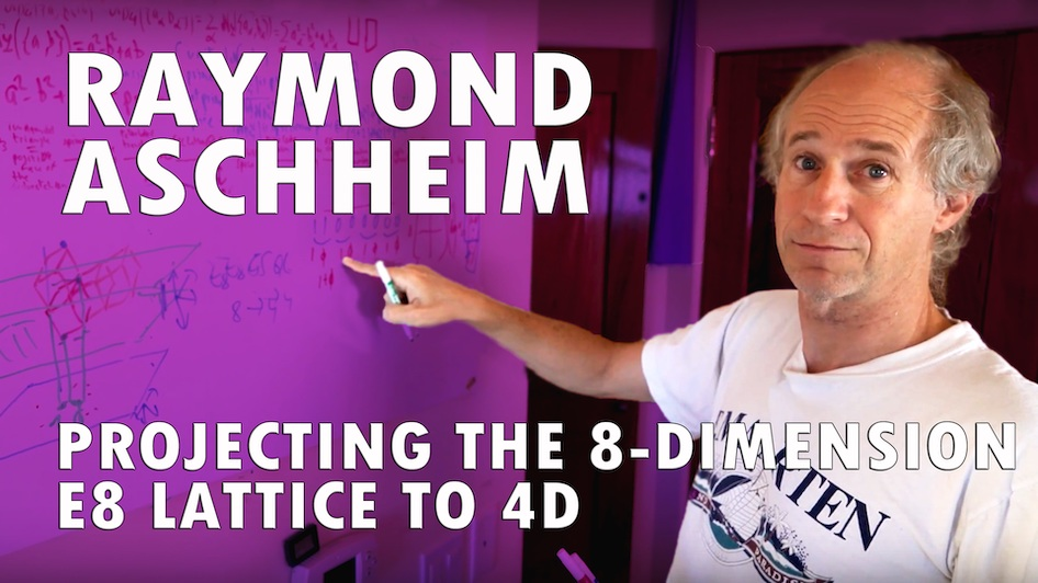 Projecting the E8 Lattice to 4D