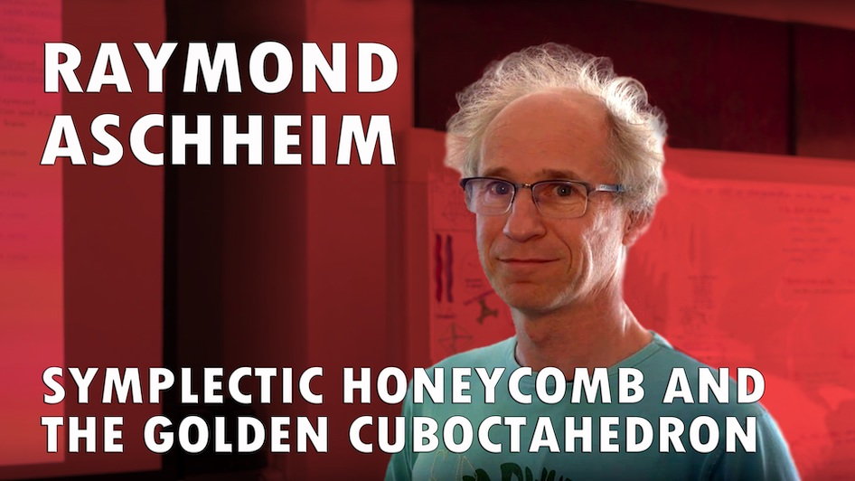 Symplectic Honeycomb and the Golden Cuboctahedron
