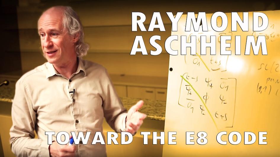 Toward the E8 code