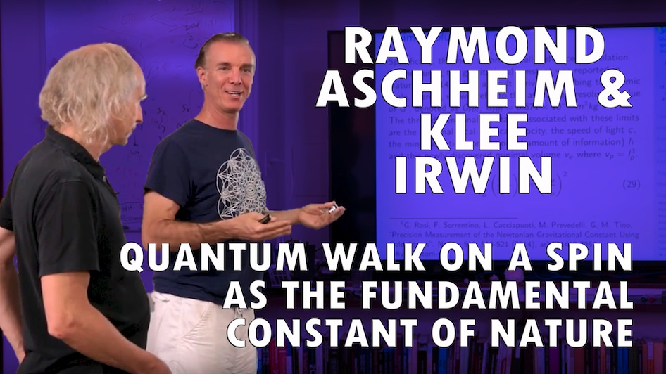 Quantum Walk on a Spin Network, and the Golden Ratio As the Fundamental Constant of Nature