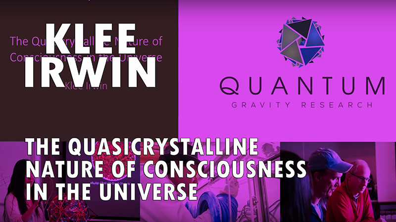 The Quasicrystalline Nature of Consciousness In the Universe